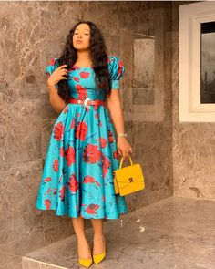 Below are some gorgeous Ankara styles or African dresses you have been searching for. We have the best Ankara style collections for women or ladies pictures Nigerian Dress Styles, Short African Dresses, Ankara Long Gown Styles, Latest African Fashion Dresses, African Print Dresses, African Print Fashion, Nigerian Fashion, African Fashion Traditional, Ankara Stil