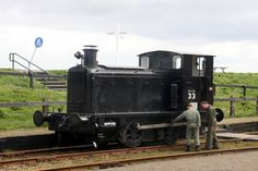WD 33 = WD 70033 = NS 162 now restored to full working order in the Netherlands. It is now in War Department black livery and numbered WD seen here at a small event at Medemblik, the Netherlands. Ww2, Netherlands, Restoration, Germany, Around The Worlds, France, Train, London, Black