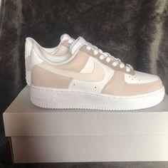 Nike Shoes | Brown Color Block Air Force Ones | Poshmark Brown Nike Shoes, Cute Nike Shoes, Cute Sneakers, Nike Air Shoes, Sneakers Nike, Dr Shoes, Swag Shoes, Hype Shoes, Jordan Shoes Girls