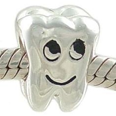 in honor of my upcoming graduation from Dental Assisting school....i think someone should buy me this little guy for my bracelet! :)