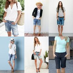 Merrick's Art // Style + Sewing for the Everyday Girl: HOW TO STYLE BERMUDA SHORTS
