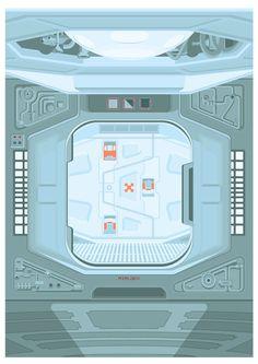 Alien - Airlock (1979)