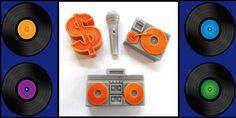 10 HiP HoP TuRnTaBleS and a MicRoPhone Party by sweetsoaptreat