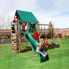 34 inspiring playsets images outdoor swing sets outside games rh pinterest com