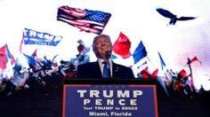 """Image copyright                  Reuters Image caption                                      Donald Trump tiene un """"patrón de incitar a la violencia"""", dijo el equipo de campaña de Hillary Clinton.                                """"Creo que sus guardaespaldas deberían dejar las pistolas. ¿Deberían desarmarse, verdad?"""" El candidato republicano a la presidencia de Estados Unidos, Donald Trump, hizo ese comentario sobre su o"""