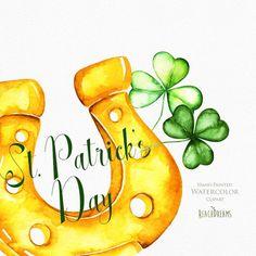 Saint Patrick, Shamrock Clipart, Tie Dye Folding Techniques, Irish Prayer, St Patricks Day Cards, Art Deco Illustration, Illustrations, Clip Art, St Pats
