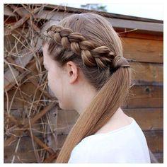 Dutch accent braid prettyhairstyleess