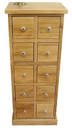 Oak DVD u0026 CD Storage Cabinet | Glenmore Solid Oak | HFL.CO.UK531  sc 1 st  Pinterest & Waverly Oak Corner Storage Cabinet in Light Oak Finish | Low ...