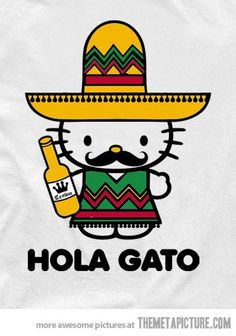 Mexican Hello Kitty…
