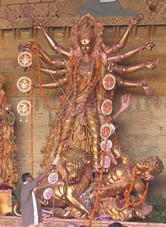 Durga, Supreme Mother Goddess. (Happy Mothers' Day!)