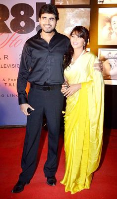 Yash Sinha and Amrapali Gupta at the launch of the GR8 Calendar 2014. #Style…