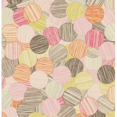 Obsessing over this new fabric from Jenean Morrison-- In My Room - Sunday Paper - Pink Soon it will be a Washi Dress for me! :)