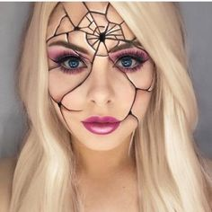 Image result for ice princess halloween makeup
