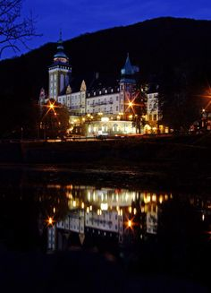 Lillafüred Palace Hotel, Homeland, Dream Homes, Hungary, Cathedral, Building, Travel, Italia, Viajes