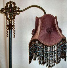 Fringe lampenkappen victoriaanse foto - 3
