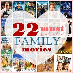 Best Family movies... Love this list!