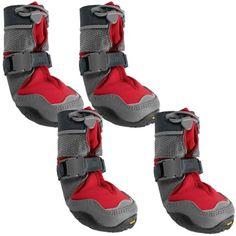 Ruffwear Polar Trex Dog Boots - Vibram® Outsole in Red Rock
