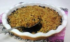 Mustikka-kaurapaistos Sweet Recipes, Macaroni And Cheese, Oatmeal, Deserts, Baking, Breakfast, Ethnic Recipes, Food, The Oatmeal
