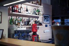 Galerie | RESTAURANT BLUE WAGON Liquor Cabinet, Blues, Furniture, Home Decor, Decoration Home, Room Decor, Home Furnishings, Home Interior Design, Home Decoration