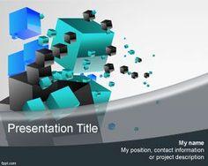 El tema de PowerPoint de Cubos 3D es un diseño fantástico para presentaciones de Microsoft Power Point que puede descargar gratis para presentaciones como tema abstracto y usar el fondo de diapositivas 3D para presentaciones de PowerPoint