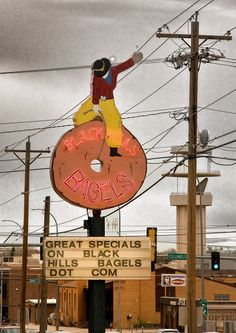 Blackhills bagels Wild Jewish Cowboy Riding It Out. I love it.