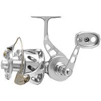 Van Stall VSB Bail Spinning Reels, now you can fish a titanium-bail reel, in the surf or from a boat, with the same solid feel and performance of our standard spin reels. Skirted spools and a new oversized anti-reverse clutch gurantee rock-solid hook-sets while an extended handle and larger knob provide more cranking power. The patented maintenance-free drag system features stainless steel ball bearings and an impenetrable gear case. The reel is sealed and water-tight to keep salt, sand and…