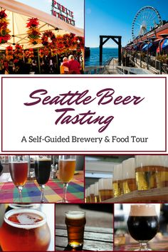 Seattle is a paradise for craft beer lovers and foodies so we decided to create a self-guided brewery & food tour for the ultimate Seattle Beer Tasting experience. Click through for a detailed guide with a map that will take you on a walking tour to take in some of the most delicious beer and food in downtown Seattle.