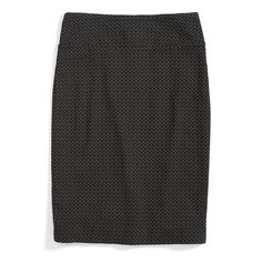 Stitch Fix Monthly Must-Haves: Add a textured pencil skirt to your work wardrobe. Mix things up by pairing this piece with printed black tights for an extra touch of dimension.