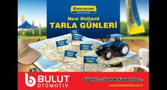 New Holland Tarla Günleri'nde, tarlada traktör deneyimi