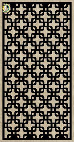 Decorative Slotted Panel 724 Pattern PDF File