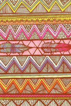 1000+ images about ethnic print on Pinterest | Aztec, Ikat print ...