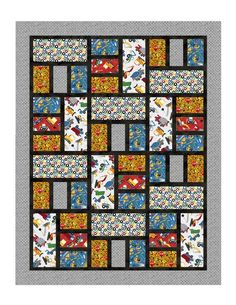 Northcott Silk Inc. is an International Distributor and Converter of fine cotton printed fabrics for the quilt, craft and home decor industries Big Block Quilts, Lap Quilts, Strip Quilts, Patch Quilt, Scrappy Quilts, Quilt Blocks, Quilting Fabric, Quilt Square Patterns, Quilt Patterns Free