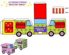 """THEME """"PLACE THE CIRCUS"""" - 1 and 2 and 3 DOUDOUS * PATTERNS * PATTERNS…"""