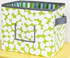 Let this tutorial lead you through every step and soon you'll know how to make a fabric box