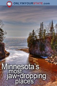 Travel Minnesota Attractions USA Places To Visit Bucket List Destinations Things To Do Day Trips Outdoor Nature Beautiful Places Adventure Natural Wonders State Parks Waterfalls Great Lakes Lake Superior Cliffs Cities Usa Places To Visit, Places To Travel, Travel Destinations, Places To Go, State Parks, Excursion, Lake Superior, Travel Images, Great Lakes