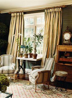 Classic elegant living room by Celerie Kemble