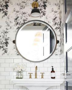 White Bathroom Tiles Inspiration . . . #housebeautifuldecor #interiordesign #bathroom #tiles #decor