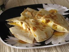 Cheesy Apple Breakfast Quesadillas