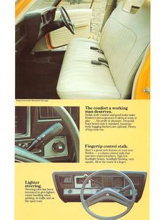 Holden HX Ute Brochure Page 5 Holden Kingswood, Bench Seat, Vintage Advertisements, Automobile, Car Stuff, Brochures, Luxury, Cars, History