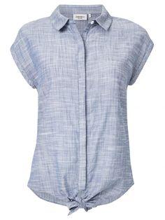 Cotton Australia Tie Front Shirt