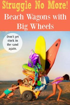 Beach Wagons with Big Wheels could be your life saver when you travel to the beach. Find my favorite 6 beach wagons big wheels. Number 1 is my all time favorite.