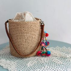 Crochet Tote, Crochet Handbags, Yarn Bag, Tote Bags Handmade, Macrame Bag, Basket Bag, Little Bag, Knitted Bags, Creations