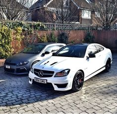 Lord Aleem's Scirocco and C63