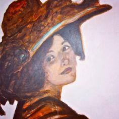 Painting by Barbara Mascini