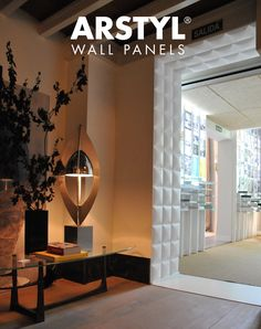 ARSTYL® Wall Panels SQUARE ooze a feeling of wellbeing & means that every single interior can be given its own unique signature. Project by ESNE Escuela Universitaria de Diseño Textured Wall Panels, 3d Panels, Decorative Panels, Interior Walls, Interior And Exterior, Wood Worker, Wainscoting, Other Rooms, Ceiling Design