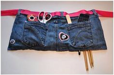 Our volunteers would like aprons... Maybe we can make some from donated jeans?