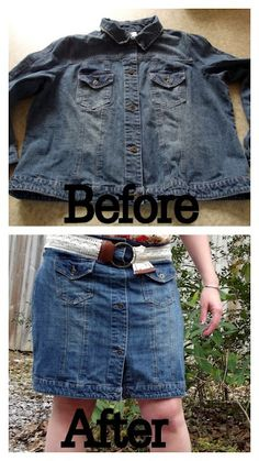 Morning by Morning Productions: Jean Jacket Refashion