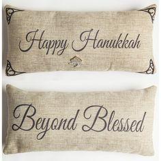 Happy Hanukkah pillow-only 2 left!