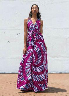 227d3daca5 Moda African Print Dresses