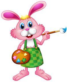 google pinterest clip art and image rh pinterest co uk easter rabbit clip art free easter bunnies clipart